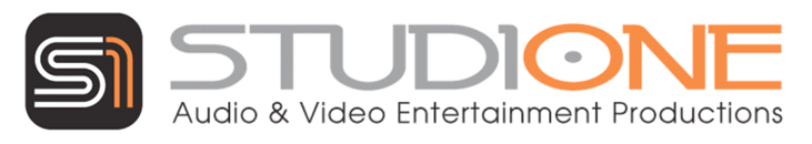 Studio One Audio/Video Production Studio Logo